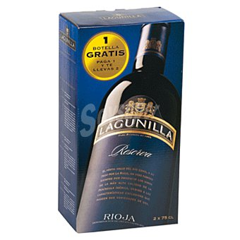 Lagunilla Vino tinto reserva D.O. Rioja Pack 2 botellas x 75 ml