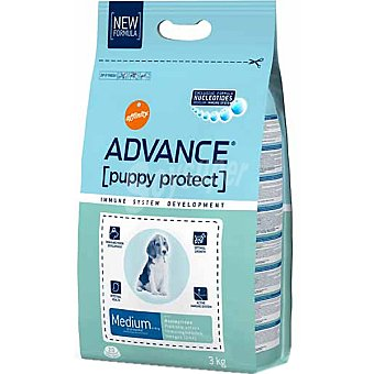 Advance Affinity Alimento de alta gama para cachorros de raza mediana rico en pollo y arroz Medium Puppy Bolsa 3 kg