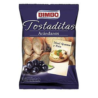 Bimbo Mini tostas con arandanos 100 g