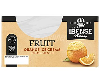 La Ibense Bornay Tarrinas Naranja Helada Pack de 2X220g