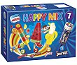 Happy Mix surtido de polos infantiles  Caja 461 ml (7 uds) Helados Nestlé