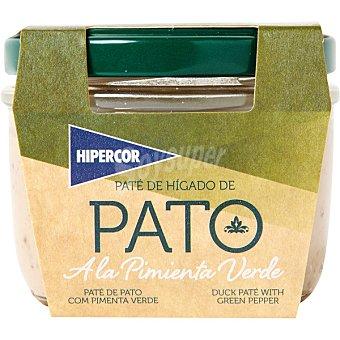 Hipercor Paté de pato con pimienta verde tarro 100 g Tarro 100 g