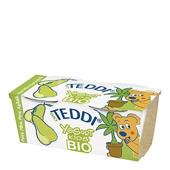 Teddi Yogur de pera kids bio Pack 2x115 g