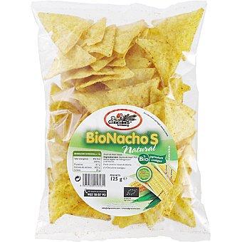 EL GRANERO Bionachos de maíz sabor natural bolsa 125 g Bolsa 125 g