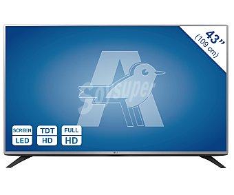 "LG Electronics Televisión 43LF540V  43"" LED Full HD, TDT HD, USB reproductor, hdmi, 300HZ. Televisor de gran formato. 1 Unidad"
