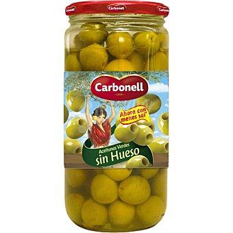 Carbonell Aceitunas verdes sin hueso Tarro 340 g