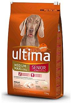 Ultima Affinity Alimento para perro senior +7 años Saco 7,5 kg