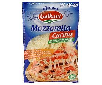 Galbani Queso mozzarella rallado especial para pizza Bolsa 150 g