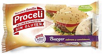 Proceli Pan Burger sin Gluten proceli 180 Gr