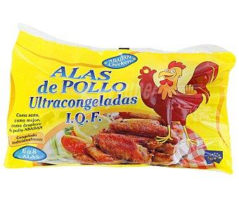 ABADAN Alas de pollo congeladas 900 Gramos