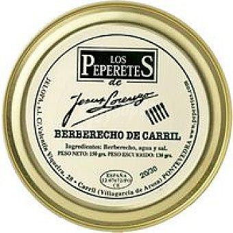 LOS PEPERETES Berberecho 40/50 Piezas Lata 150g