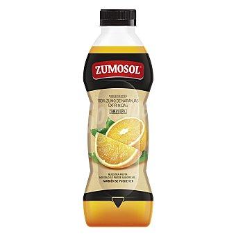 Zumosol Zumo de naranja exprimida sin pulpa Botella 85 cl