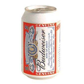 Budweiser Cerveza rubia americana  Lata de 33 cl