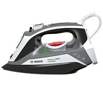 Bosch TDA70EASY Plancha de vapor Sensixx'x DA70 easycomfort, suela cerámica, potencia 2400W