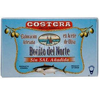 Costera Bonito del norte sin sal en aceite de oliva Lata 120 g