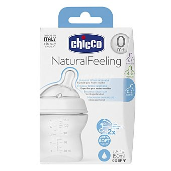 Chicco Biberon Step Up New 0M+ 150 ml Pack 1 unid