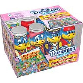 Danone Danonino Bebedino de fresa Pack 8x100 g