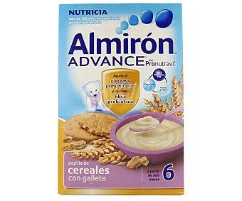 Almirón Nutricia Papilla de cereales con galleta a partir de 6 meses 500 gramos