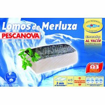 Pescanova Lomos de merluza Caja 400 g