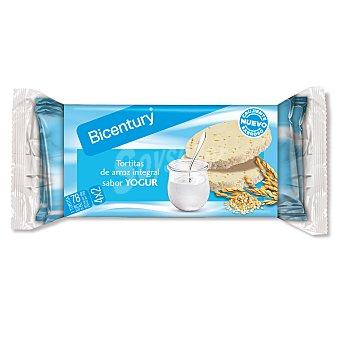 Bicentury Nackis tortitas de arroz con yogur 130 g
