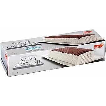 Aliada Tarta laminada de nata y chocolate Estuche 1 l