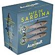 Paté de sardina Lata 100 g Agromar