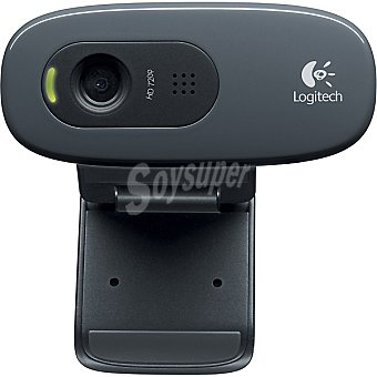 LOGITECH C270 HD Webcam con micrófono