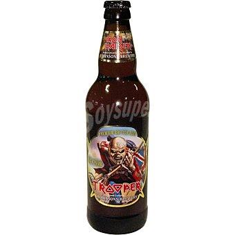 IRON MAIDEN Trooper cerveza rubia británica  botella 33 cl