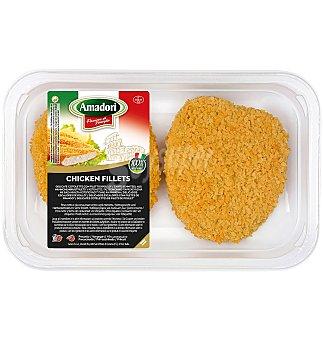 Amadori Fil.pollo empanado 220 G