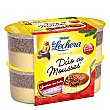 Dúo de mousse chocolate blanco Pack 4x60 g La Lechera Nestlé