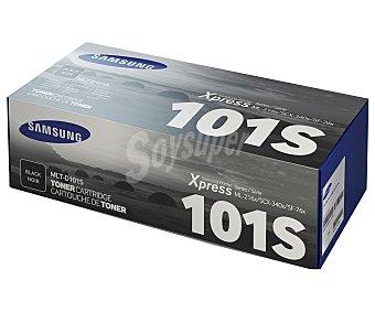 Samsung Tóner MLT-D101S Negro, compatible con impresoras: ML-2160 / 2162 / 2168 / 2162W / 2165W / 2168W / 2164 / SCX-3400 / 3400F / 3405F / 3405W / 3405WF / SF-760P / 765P