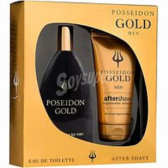 POSEIDON Colonia Gold Frasco + Body