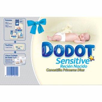 Dodot Pack Recién Nacido Dodot Sensitive Paquete 66 unid