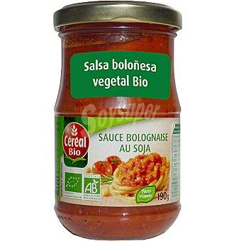 CEREAL BIO salsa boloñesa vegetal ecológica envase 190 g