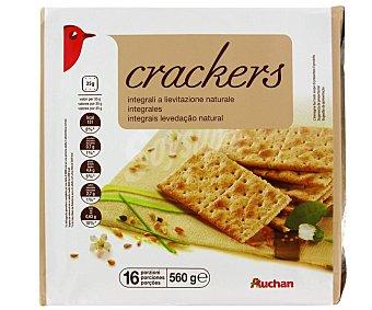 PRODUCTO ALCAMPO Crackers Integrales 560 gr
