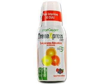 Stop calory Complemento alimenticio líquido sabor Frutos del Bosque 250 Mililitros