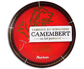 Auchan Queso camembert 250 gramos