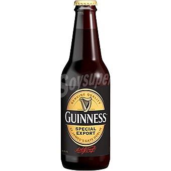 Guinness Cerveza negra irlandesa 8º Special Export Botella de 33 cl