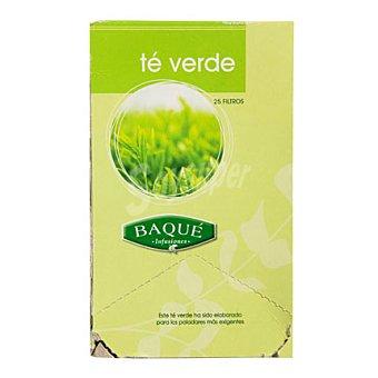 Baqué Té verde 25 ud