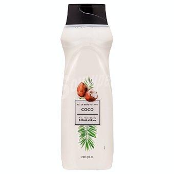 Deliplus Gel baño dermo aroma piel normal coco Botella 750 ml