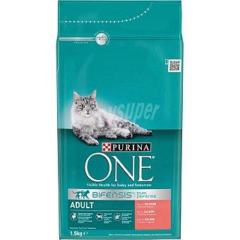One Purina Alimento light especial para gatos rico en pollo con arroz bolsa 1,5 kg Bolsa 1,5 kg
