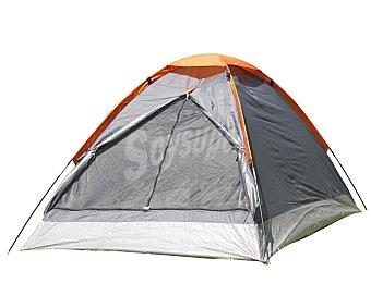 CUP´S Tienda igloo para 2 personas, con puerta frontal y estructura de tubos flexibles 1 unidad