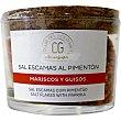 Sal de escamas con pimentón tarro 100 g tarro 100 g Club del gourmet