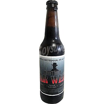 Far West Black Diamond Ale cerveza negra artesana de Almería botella 33 cl Botella 33 cl