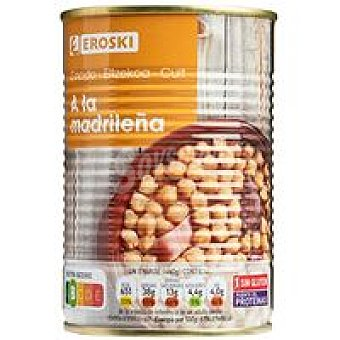 Eroski Cocido madrileño Lata 440 g