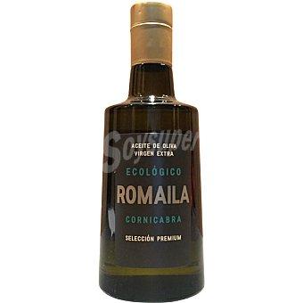 Romaila Cornicabra aceite de oliva virgen extra ecológico selección premium  botella 500 ml