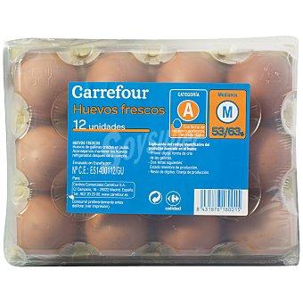 Carrefour Huevos M 12 unidades