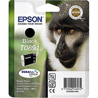 EPSON Stylus T0891 Cartucho de tinta color negro