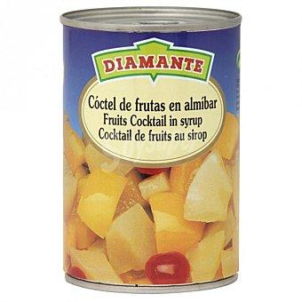 Diamante Cóctel fruta en almíbar Lata 240 g
