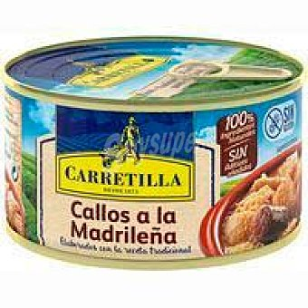 Carretilla Callos madrileña carretilla, lata 380 G Lata 380 g
